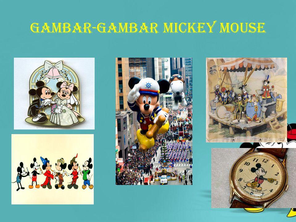 Gambar-gambar mickey mouse