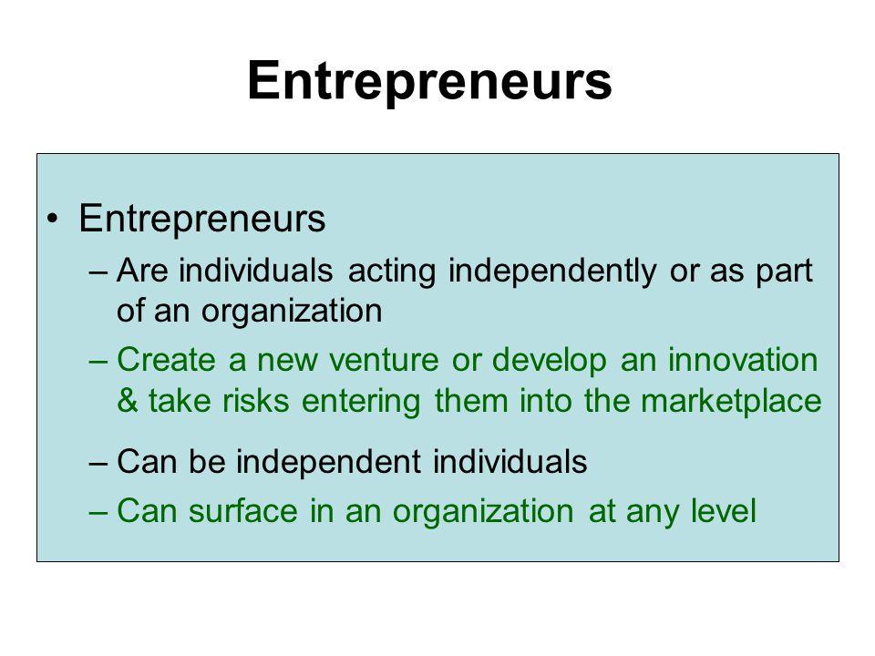 Entrepreneurs Entrepreneurs