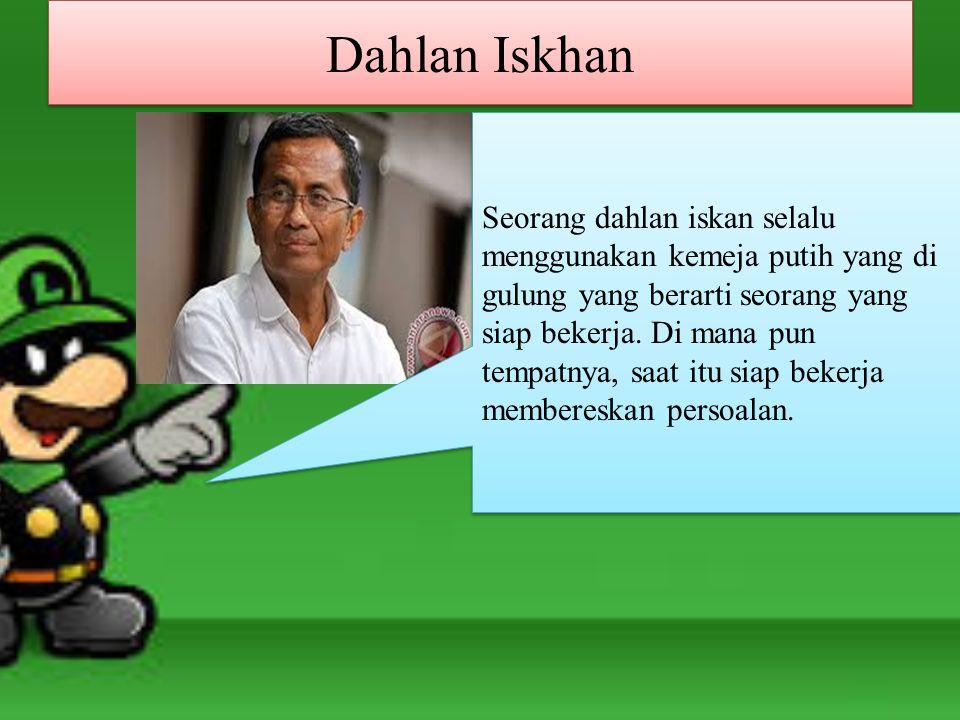 Dahlan Iskhan