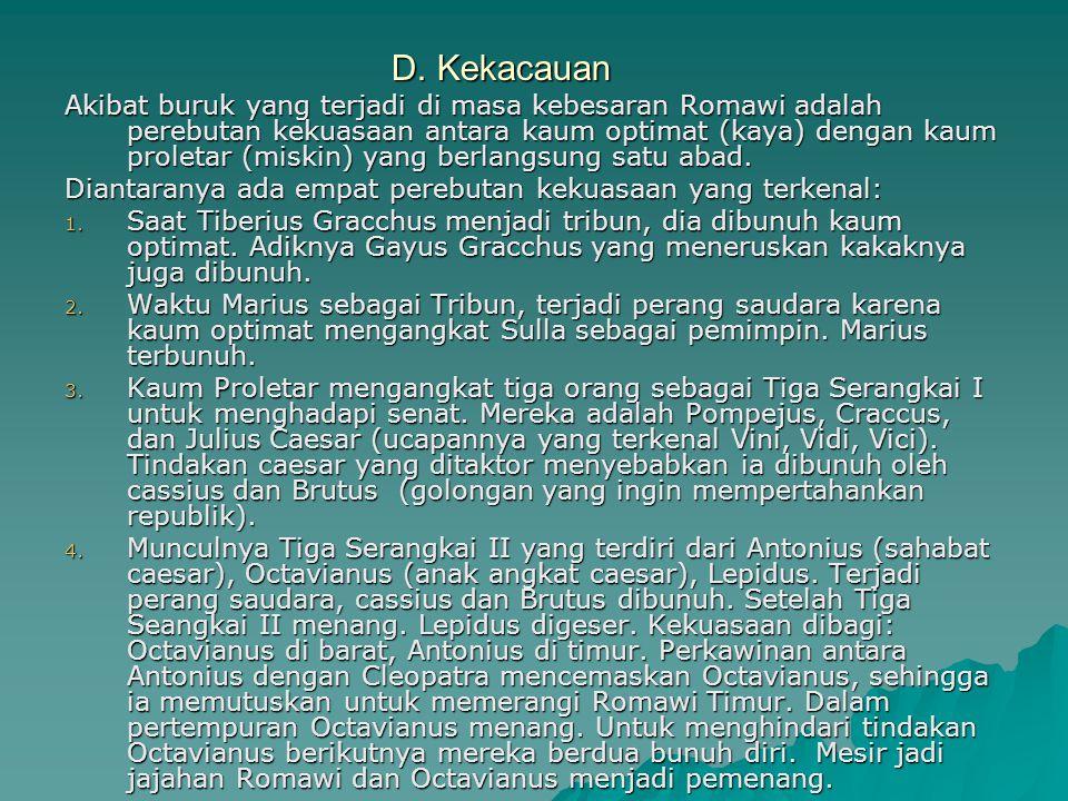 D. Kekacauan