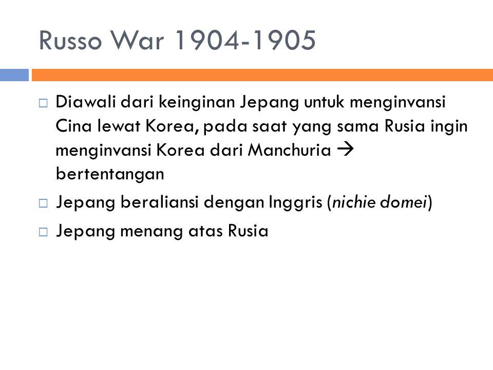 Russo War 1904-1905