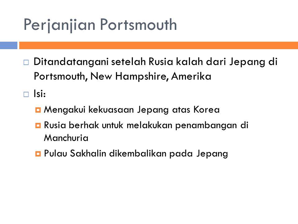 Perjanjian Portsmouth