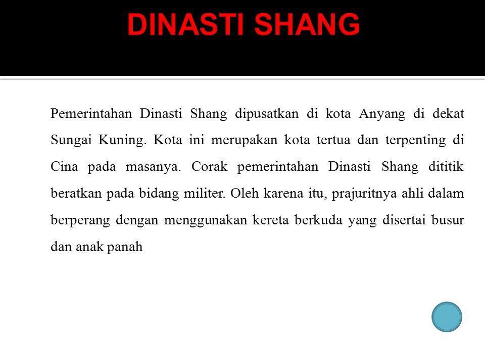 DINASTI SHANG