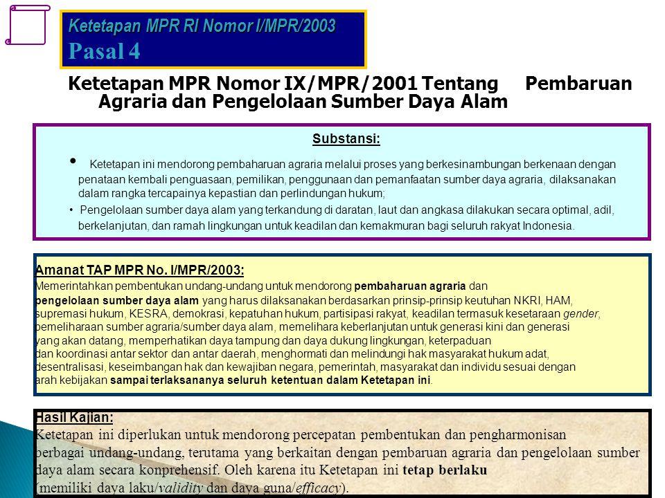Ketetapan MPR RI Nomor I/MPR/2003
