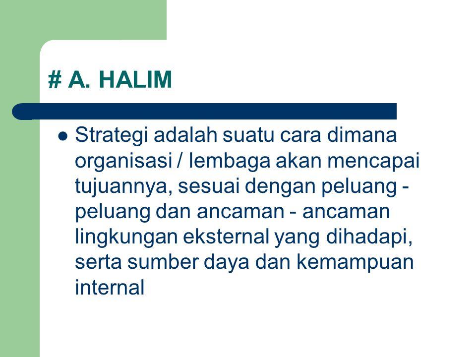 # A. HALIM