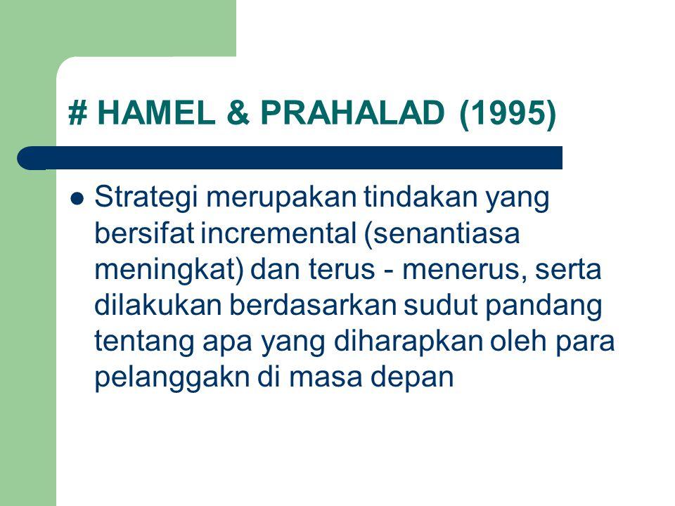 # HAMEL & PRAHALAD (1995)
