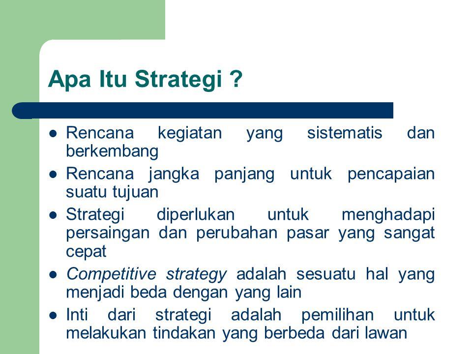 Apa Itu Strategi Rencana kegiatan yang sistematis dan berkembang