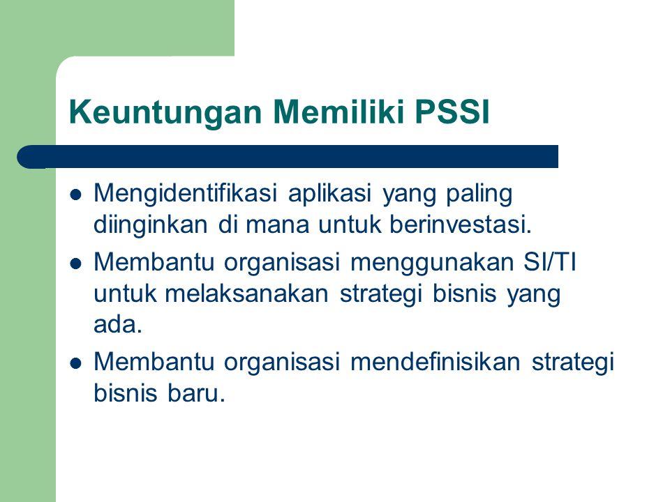 Keuntungan Memiliki PSSI