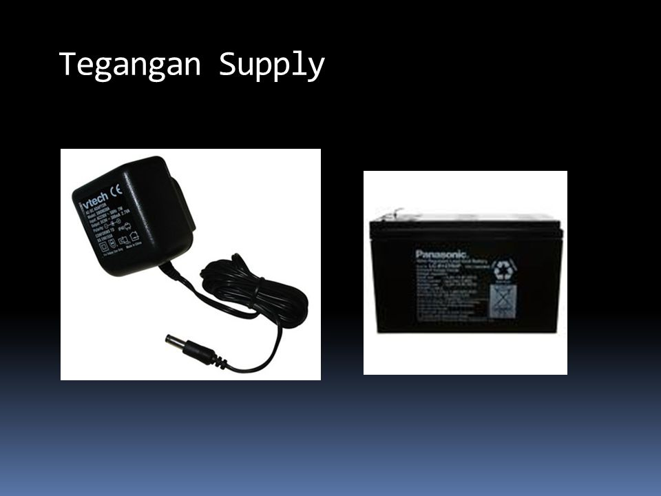 Tegangan Supply