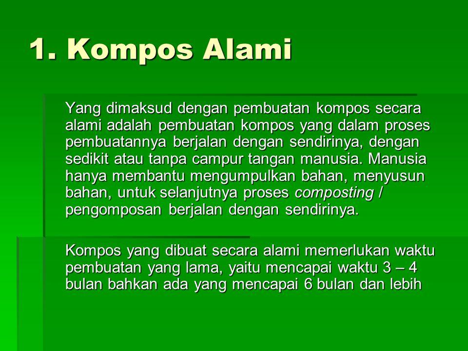 1. Kompos Alami