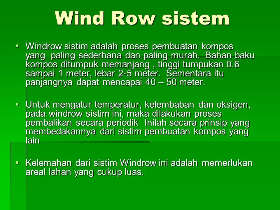 Wind Row sistem