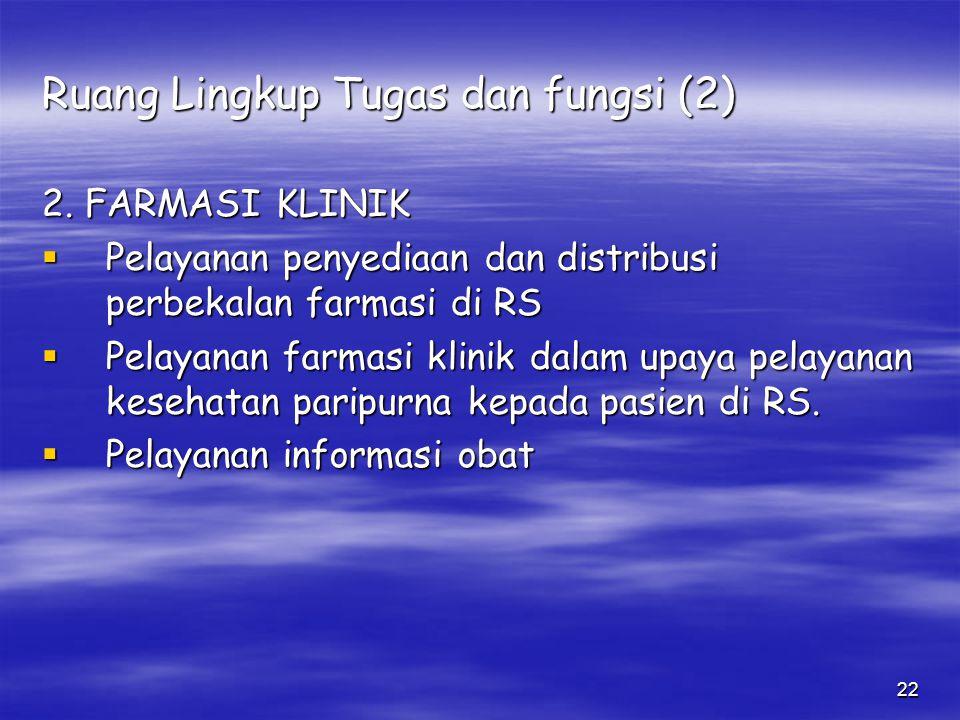 Ruang Lingkup Tugas dan fungsi (2)