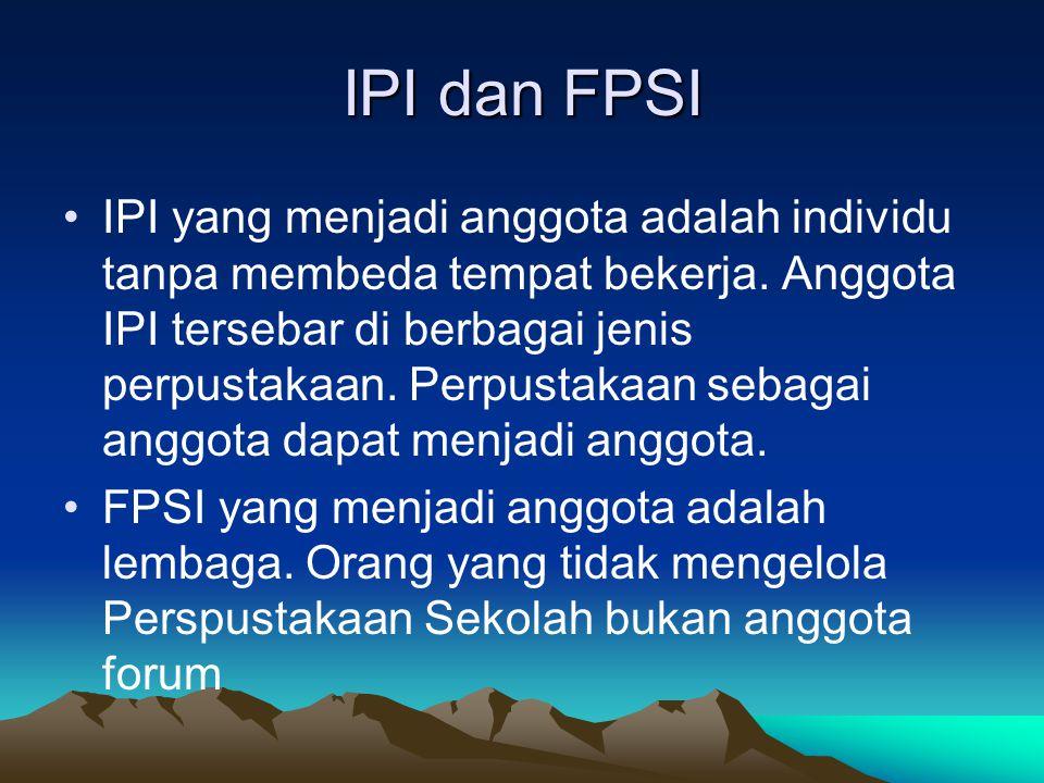 IPI dan FPSI