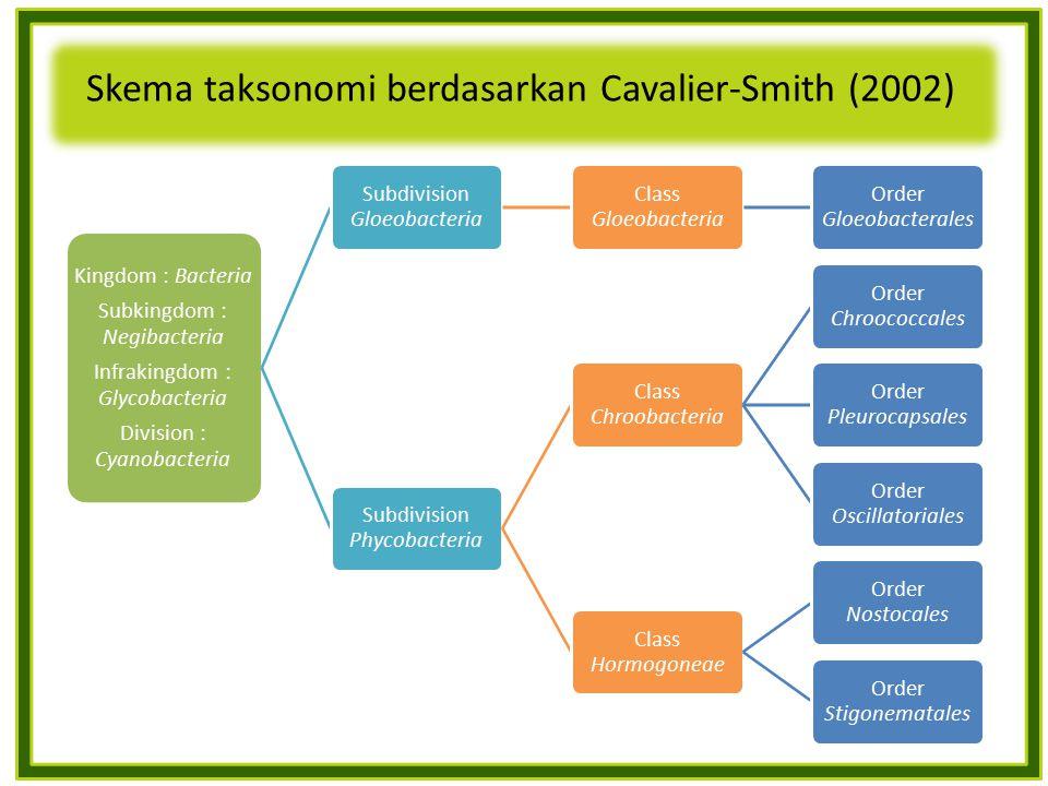 Skema taksonomi berdasarkan Cavalier-Smith (2002)
