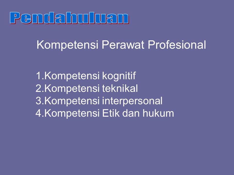 Kompetensi Perawat Profesional