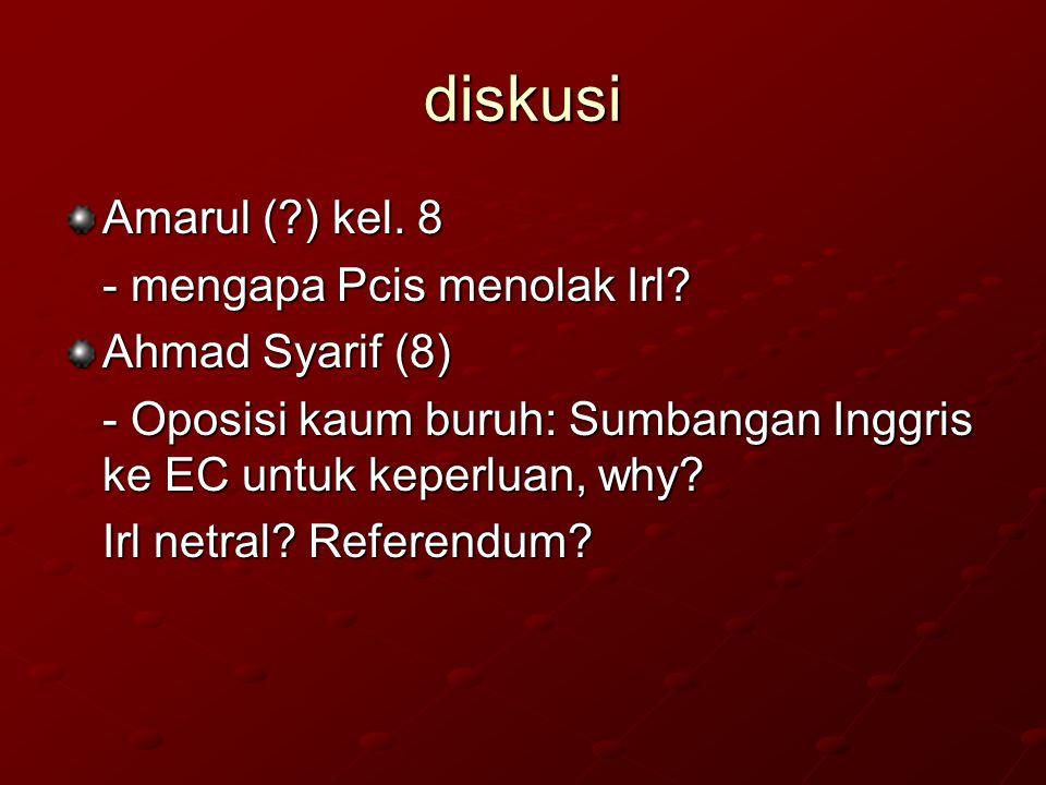 diskusi Amarul ( ) kel. 8 - mengapa Pcis menolak Irl Ahmad Syarif (8)