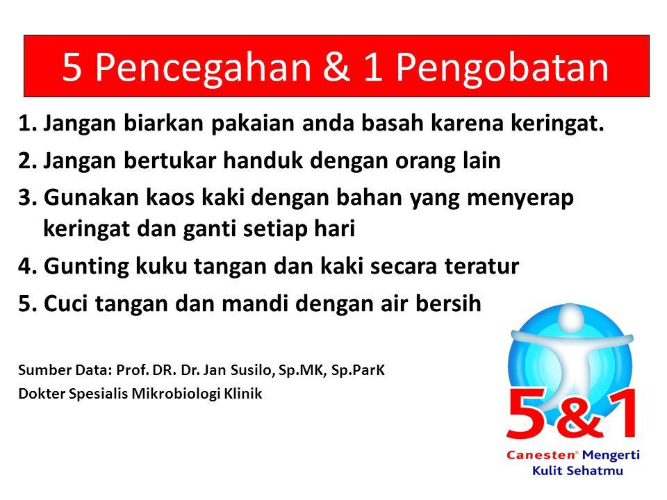 5 Pencegahan & 1 Pengobatan