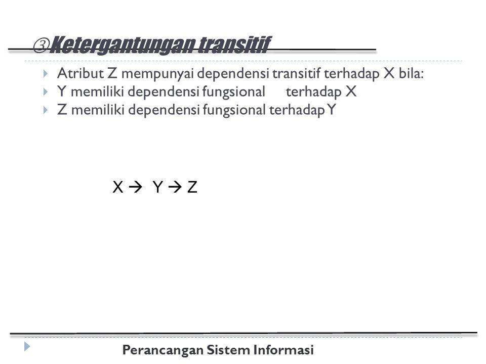 Ketergantungan transitif