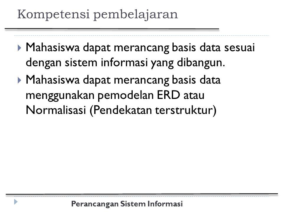 Kompetensi pembelajaran