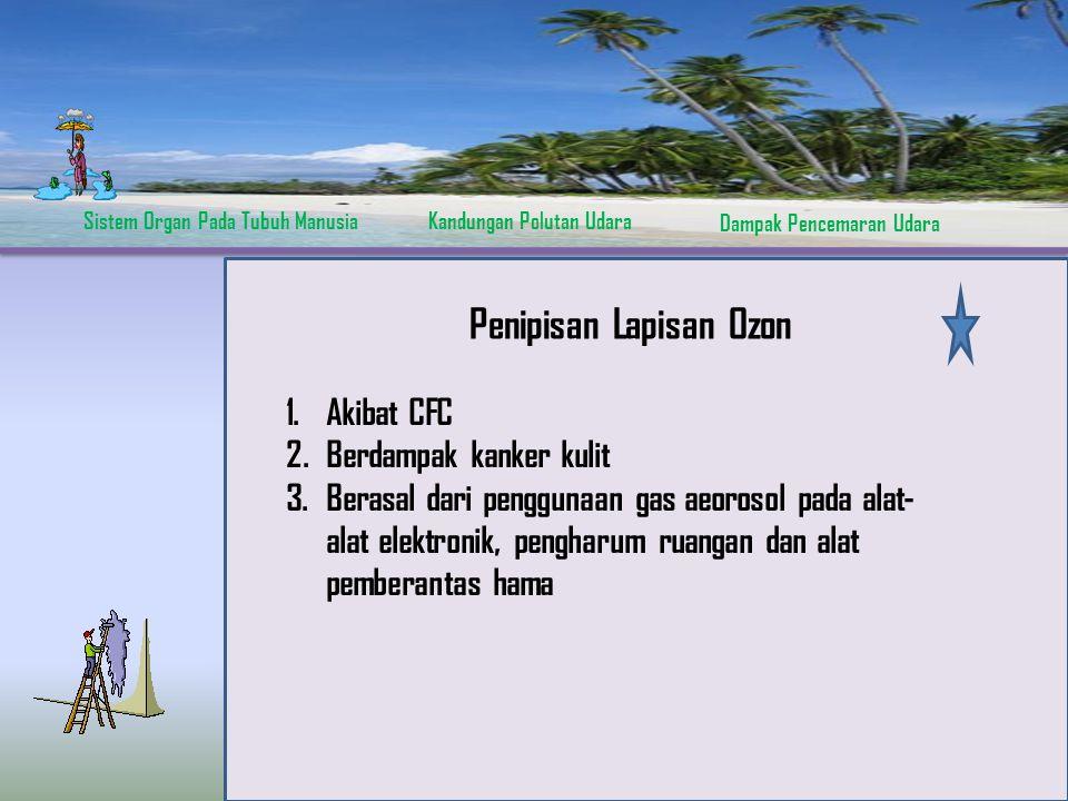 Penipisan Lapisan Ozon