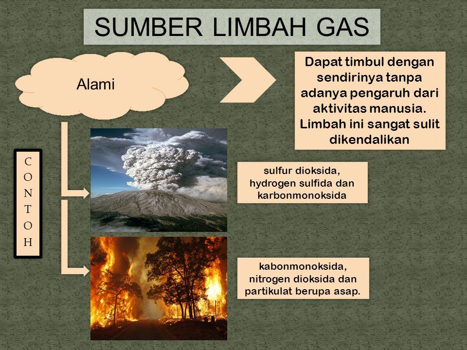 SUMBER LIMBAH GAS Alami