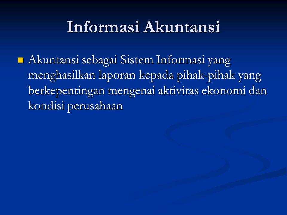 Informasi Akuntansi