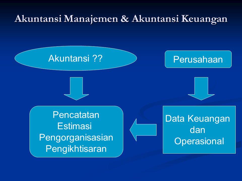 Akuntansi Manajemen & Akuntansi Keuangan