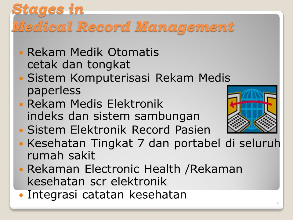 Stages in Medical Record Management