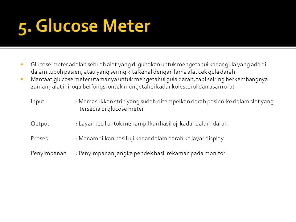 5. Glucose Meter