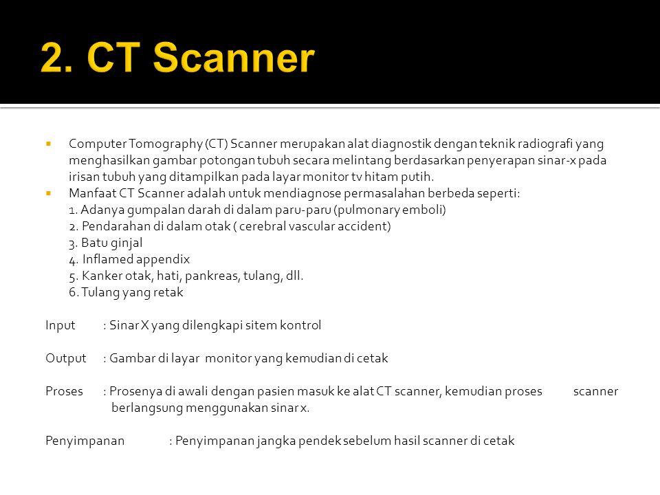 2. CT Scanner