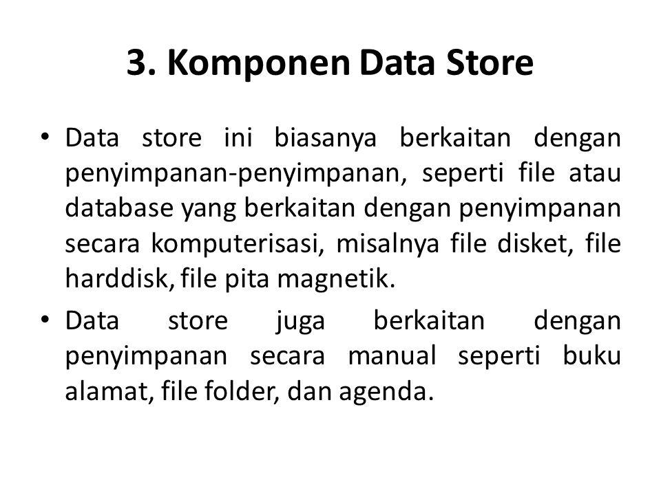 3. Komponen Data Store