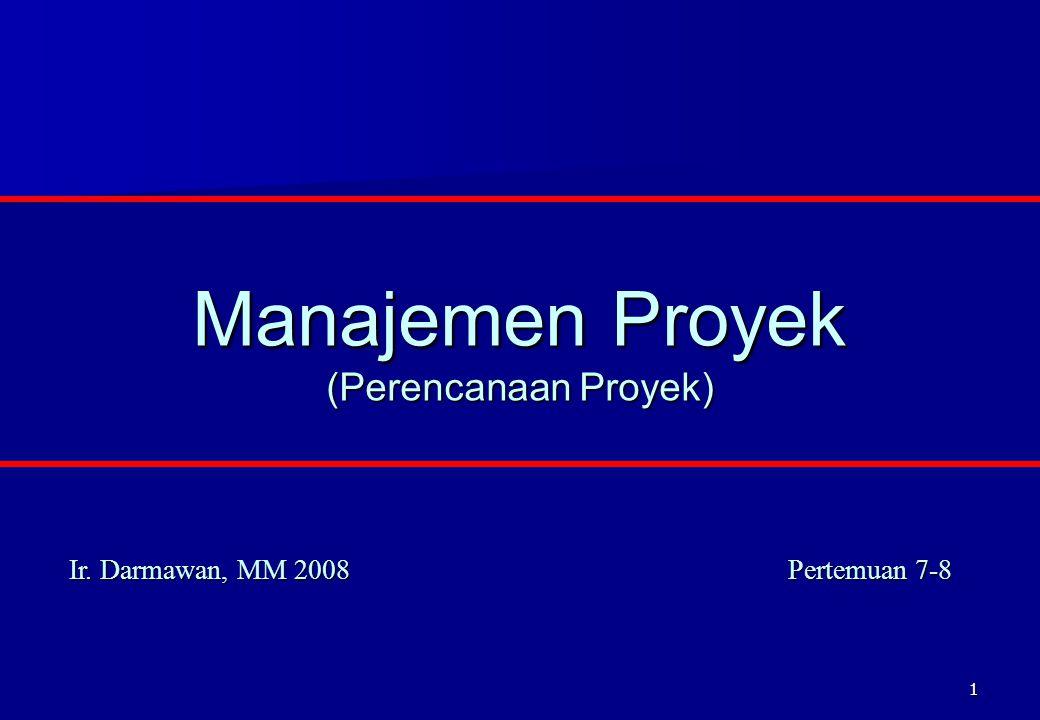 Manajemen Proyek (Perencanaan Proyek)