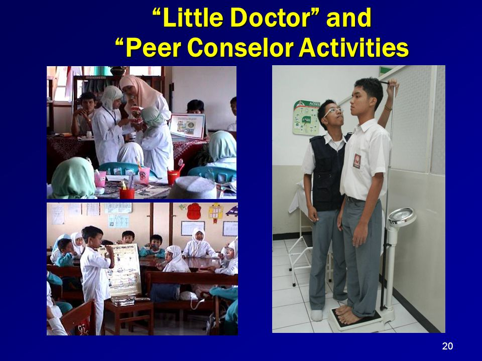 Peer Conselor Activities