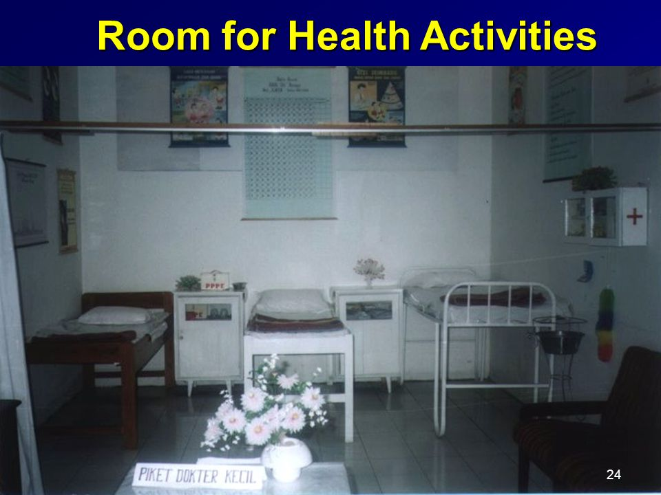 Room for Health Activities