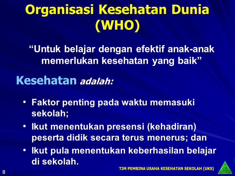Organisasi Kesehatan Dunia (WHO)