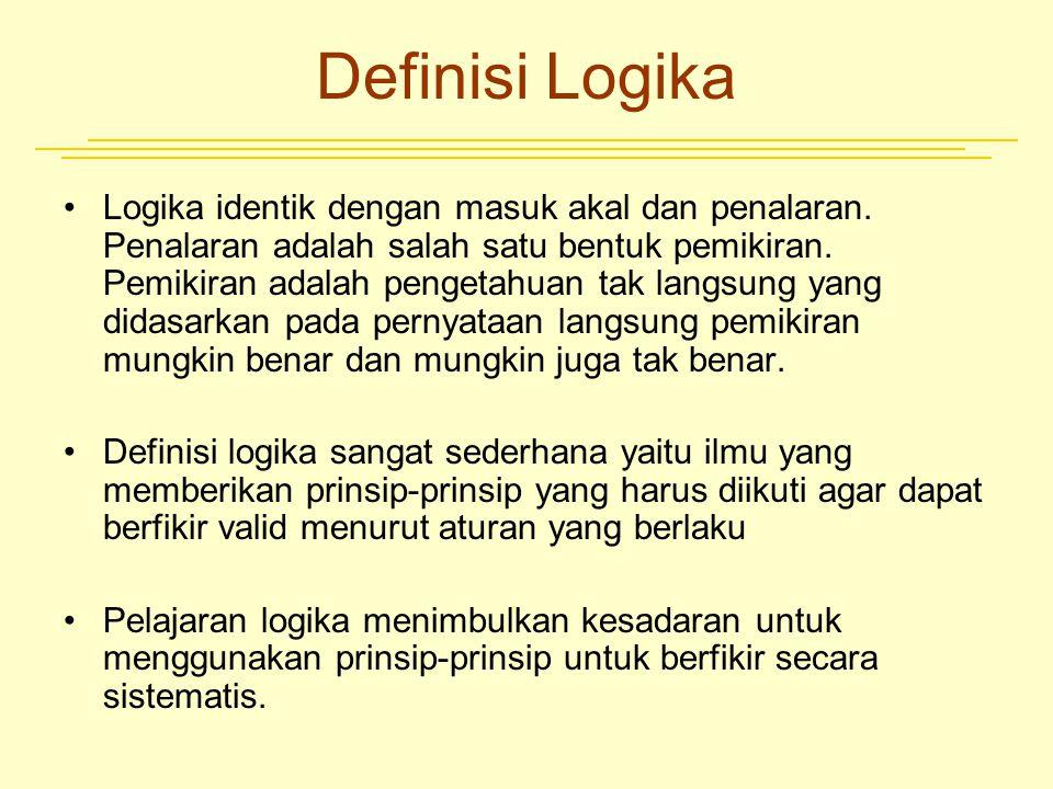 Definisi Logika