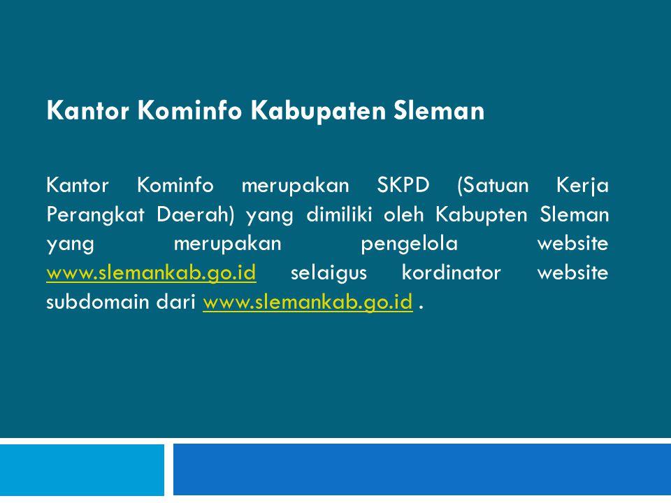 Kantor Kominfo Kabupaten Sleman