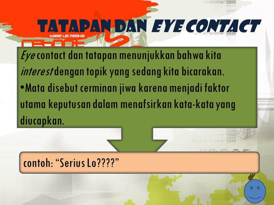Tatapan dan eye contact