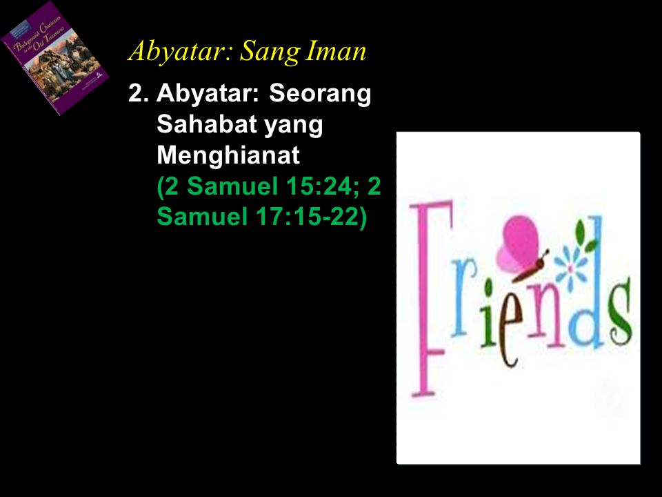 Abyatar: Sang Iman 2.