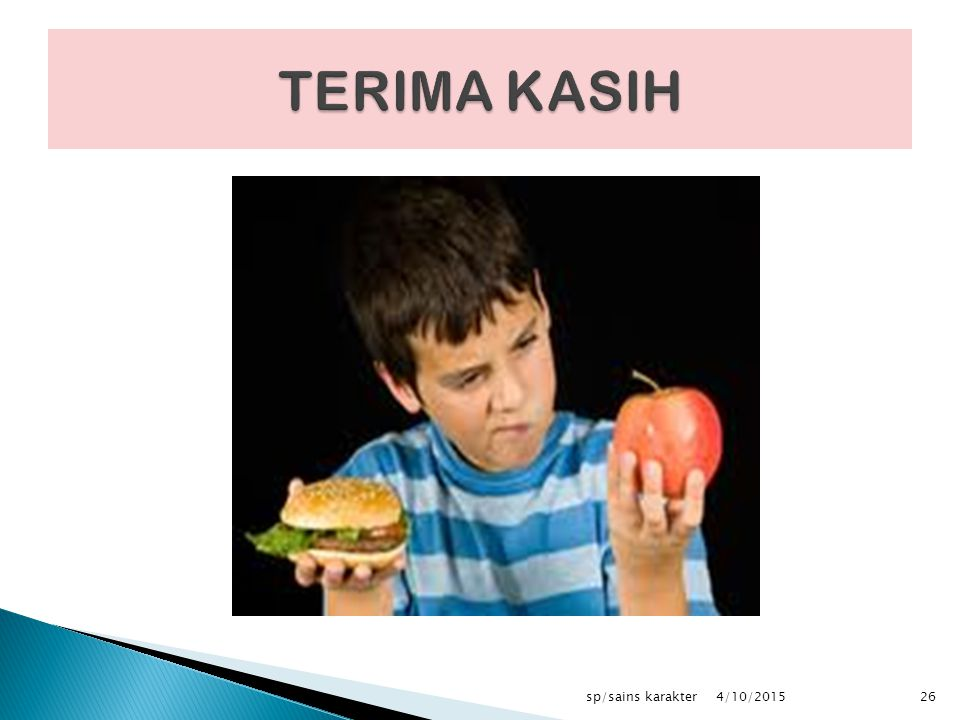 TERIMA KASIH sp/sains karakter 4/10/2017