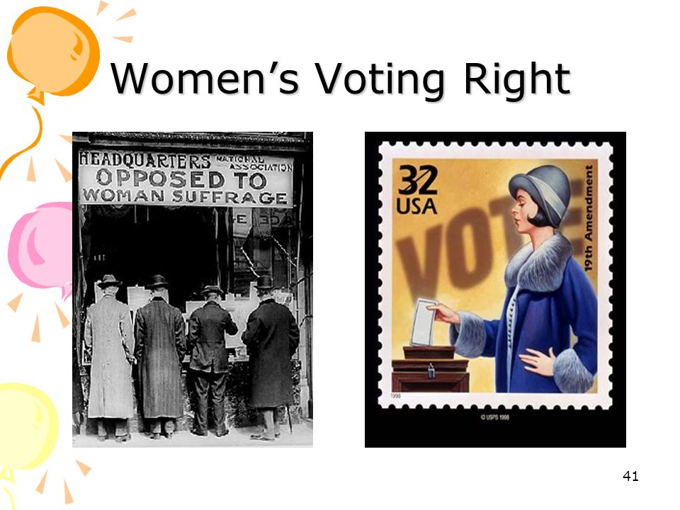 Women's Voting Right