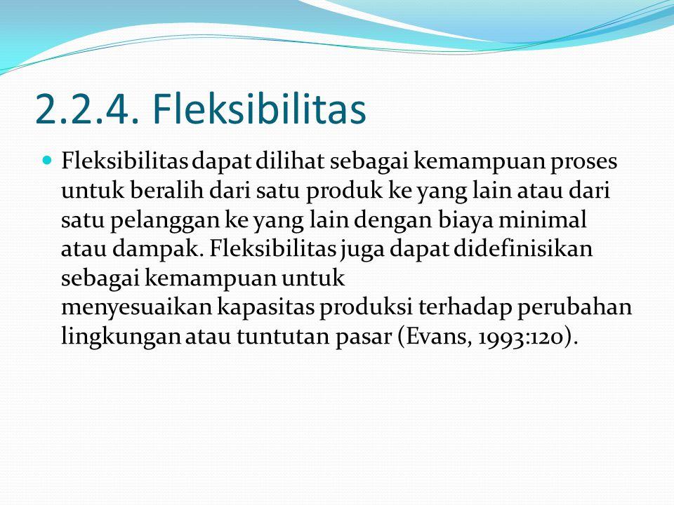 2.2.4. Fleksibilitas