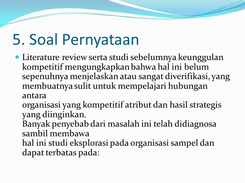 5. Soal Pernyataan