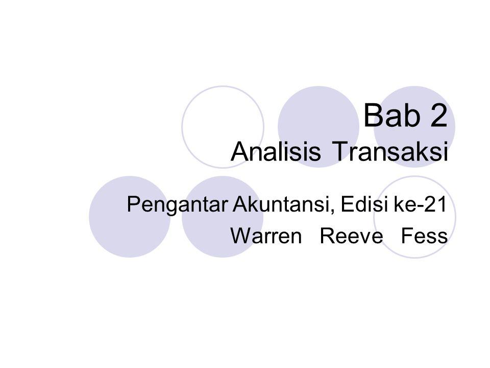 Bab 2 Analisis Transaksi