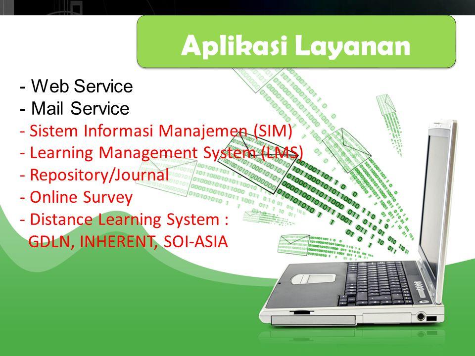 Aplikasi Layanan Thanks! - Web Service - Mail Service