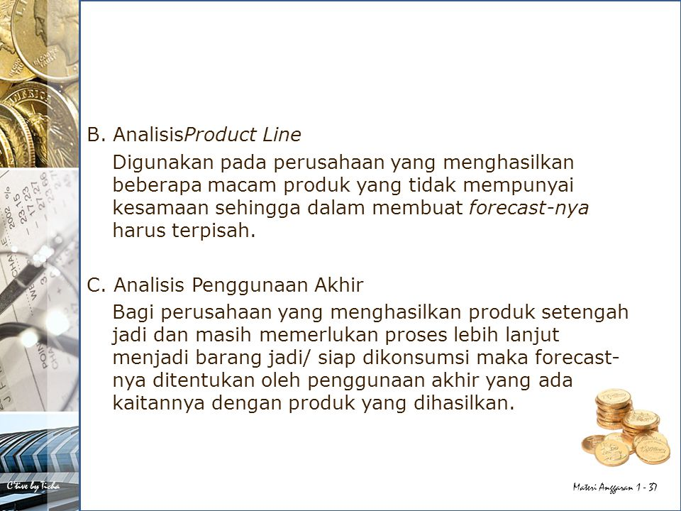 B. AnalisisProduct Line