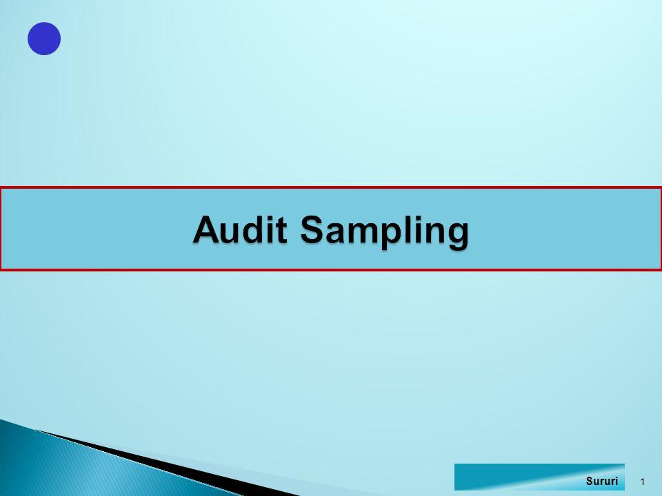 Audit Sampling Sururi