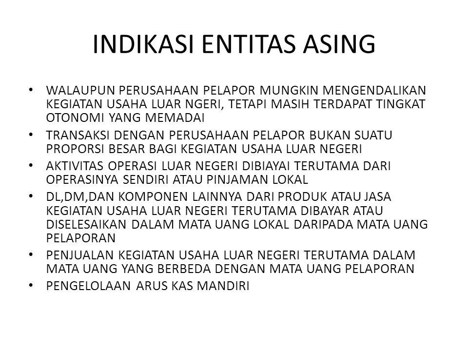 INDIKASI ENTITAS ASING
