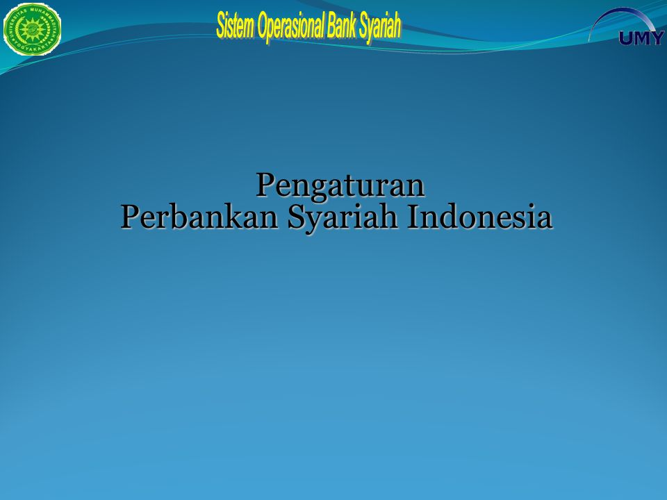 Perbankan Syariah Indonesia