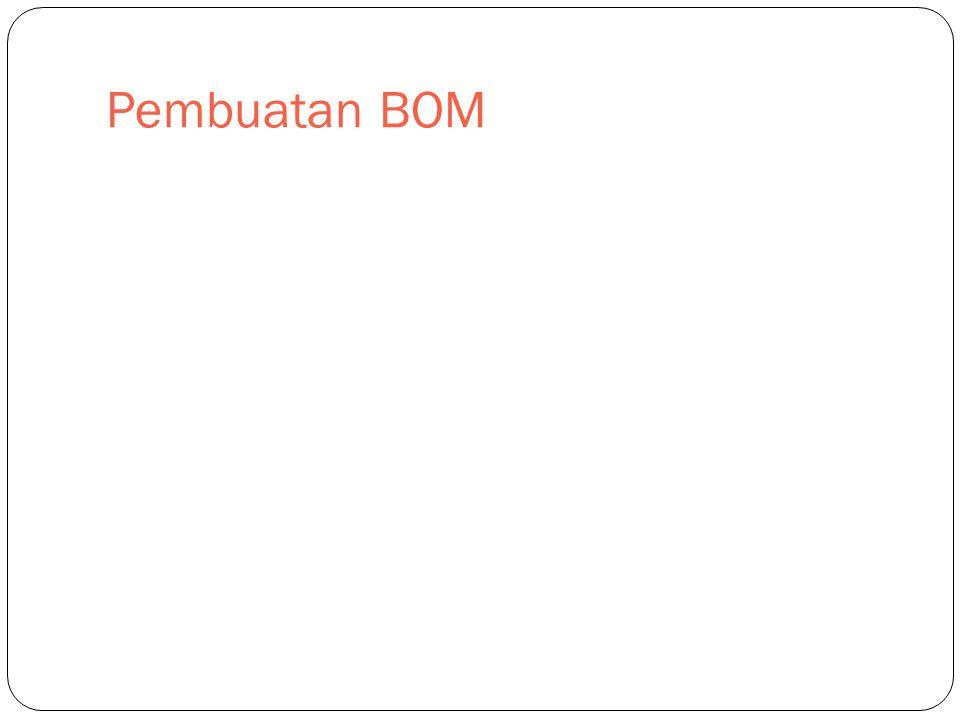 Pembuatan BOM
